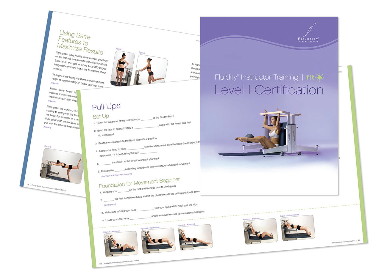 150 page instructor manual graphic design.